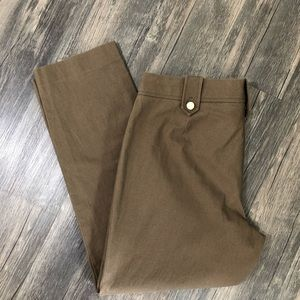 Tory Burch brown ankle pant